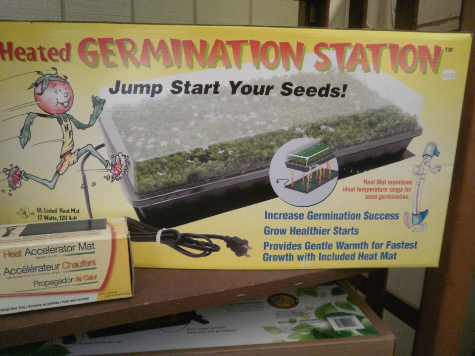 Germination Station and Heat Mat