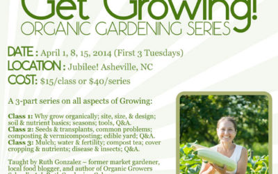 Get Growing! Organic Gardening Series in Asheville