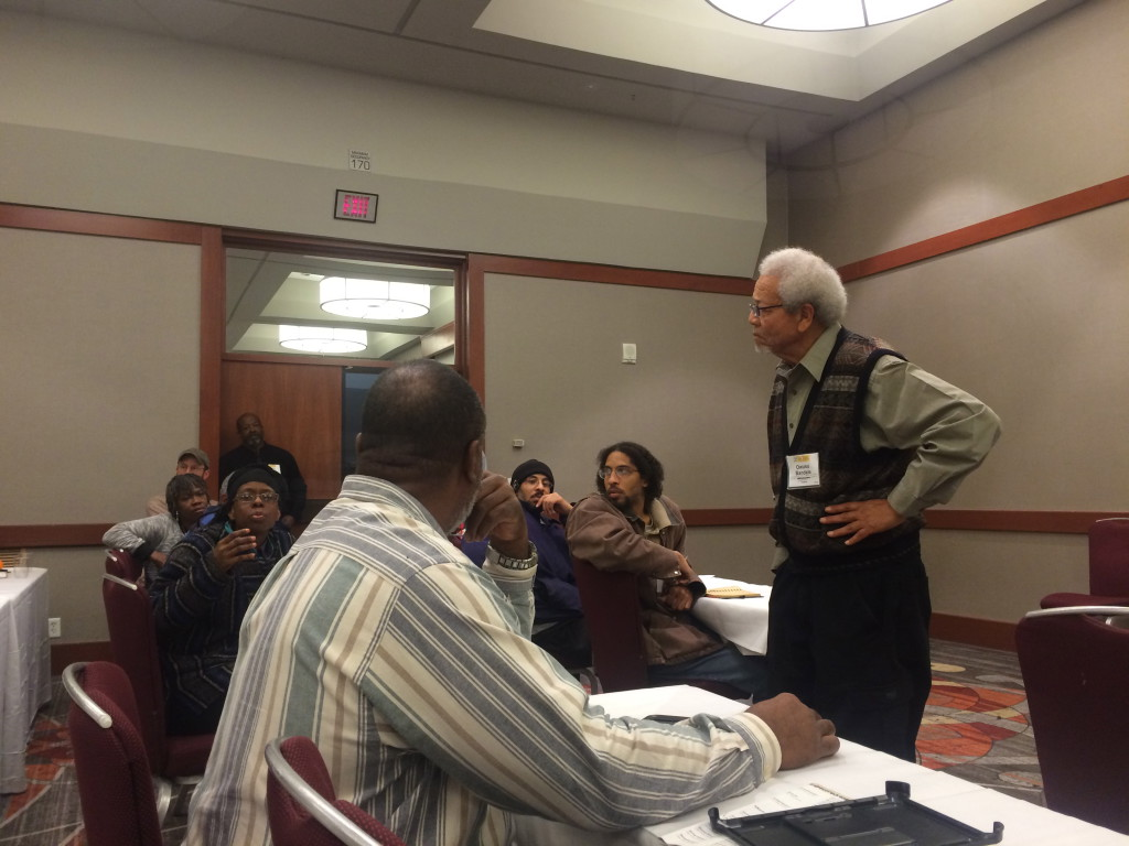 In the People of Color in Farming and Food Systems Work discussion