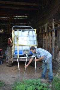 Alternative to a water wheel transplanter