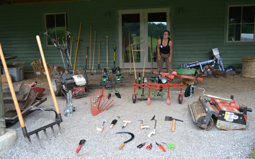 WNC CRAFT – Hand Tools & Equipment Field Day at Living Web Farms