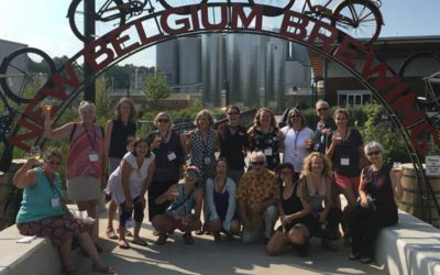 Honoring the OGS Volunteers at New Belgium Brewery in Asheville, NC