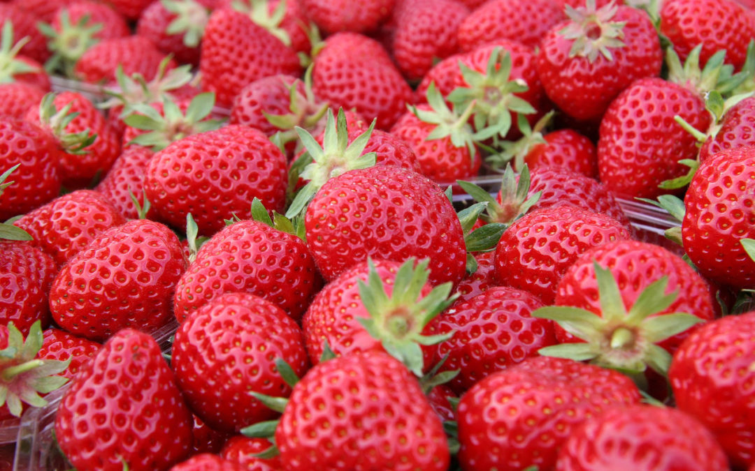 Get a Beautiful Complexion with Organic Strawberries