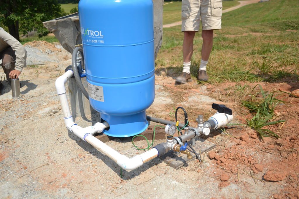 Newly Installed Well at Bluebird Farm