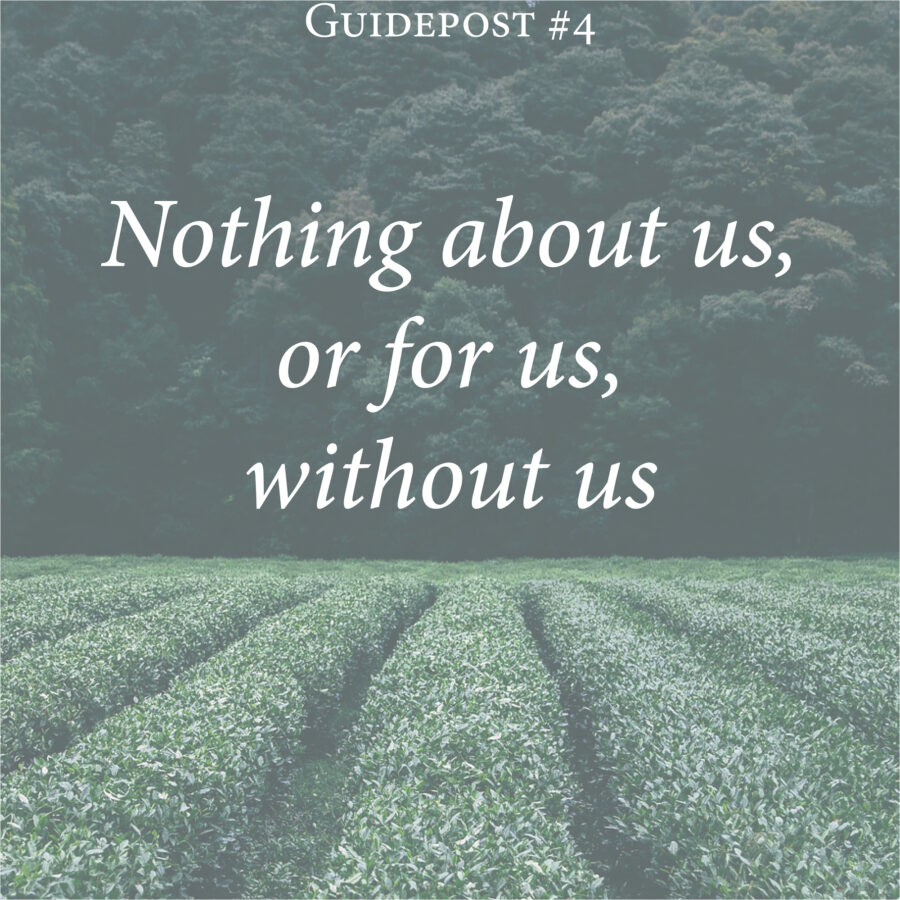 nothing about us, or for us, without us