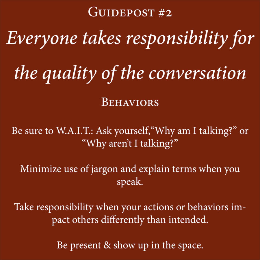 Guidepost and Behavior 2