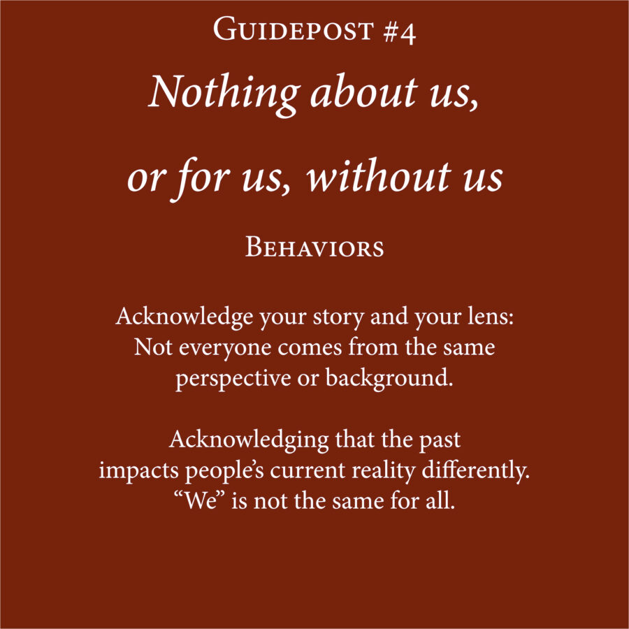 Guidepost and Behavior 4